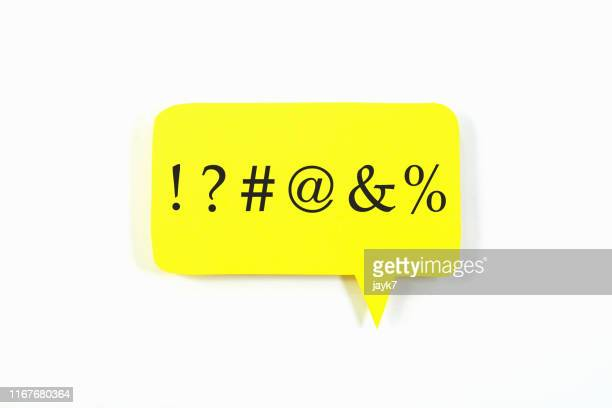 speech bubble - percentage sign stock pictures, royalty-free photos & images