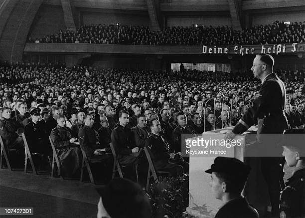 Speech Of Heinrich Himmler In Breslau-Germany On March 3Rd 1941