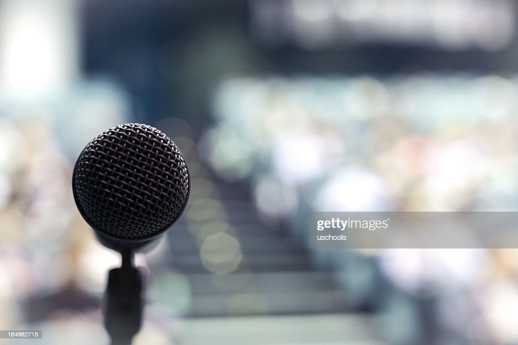 Speech Time! Your Turn! : Stock Photo