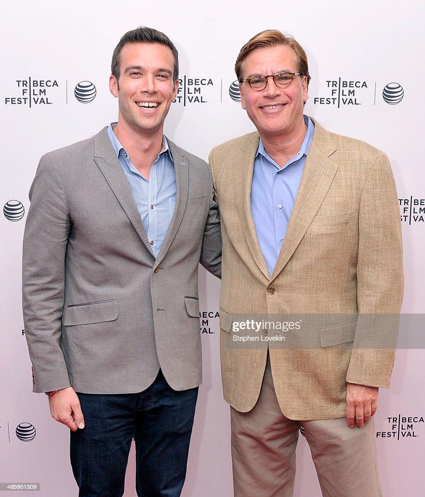 Tribeca Talks: Future of Film: A Conversation with Aaron Sorkin  - 2014 Tribeca Film Festival : News Photo