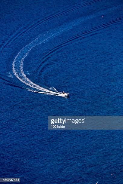 speed boat at oludeniz