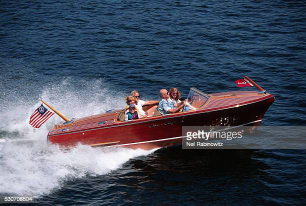 Speed Boat in Action