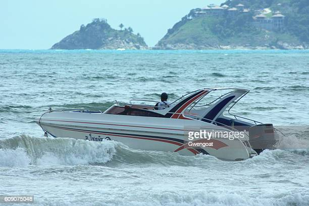 Speed boat in Phuket
