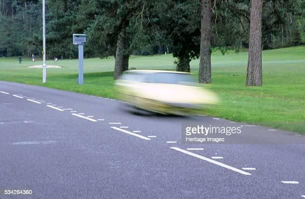 Speed camera in Bournemouth Dorset 2000