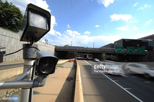 Speed cameras capture motorists on I395 near 2nd Street NW in Washington DC on June 7 2012 Speed and red light cameras in DC have reaped a record...