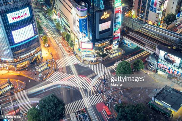 speed in shibuya,tokyo - この撮影のクリップをもっと見る 2025 stock pictures, royalty-free photos & images