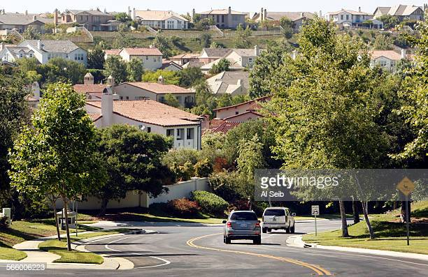 A speed limit sign of 25 MPH along Parkway Calabasas in the The Oaks a guard gated luxury community in Calabasas on May 30 2013 is just outside the...