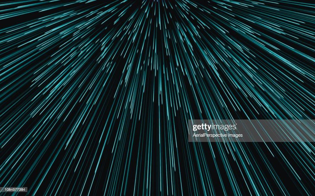 Speed motion blur background : Stock Photo
