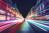 Speed of light in London city