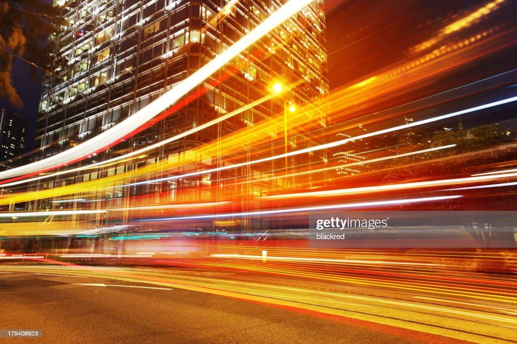 Velocità della luce : Foto stock