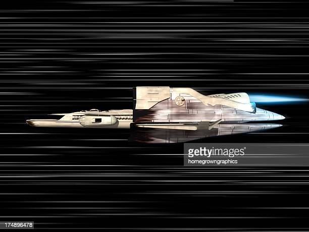 speed of light with space ship