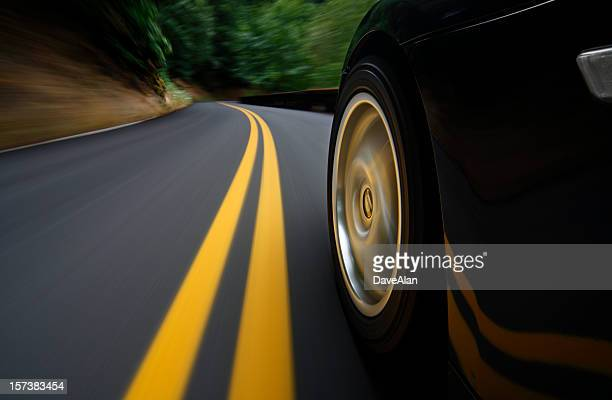 speed - dividing line road marking stock photos and pictures