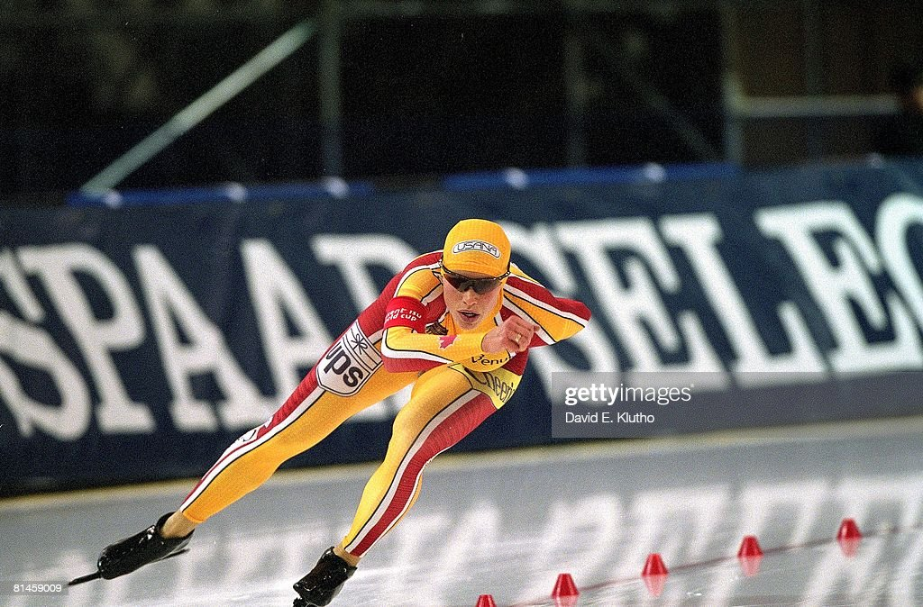 CAN Catriona Lemay Doan, 2001 World Cup Long Track Speed Skating : News Photo