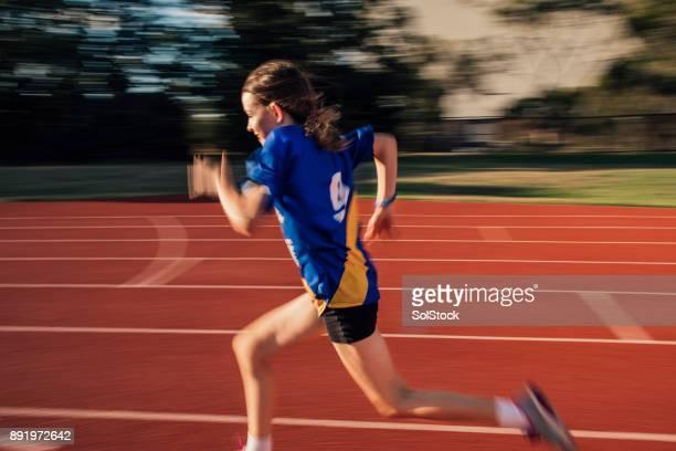 Speed Training At Athletics Club