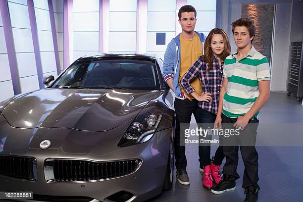 LAB RATS 'Speed Trapped' In the season premiere 'Speed Trapped' Adam Bree and Chase sneak out to meet Marcus in Davenport's new selfdriving sports...