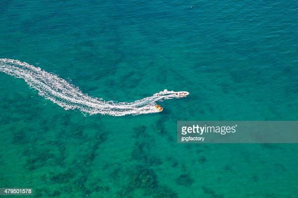 Schnellboot Spaß im Sommer
