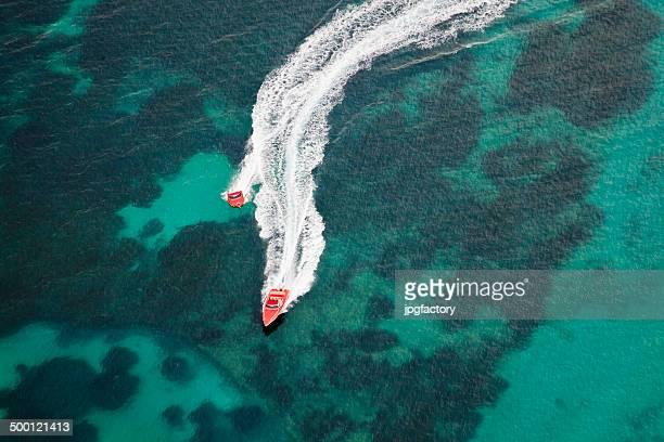 speedboat fun summer
