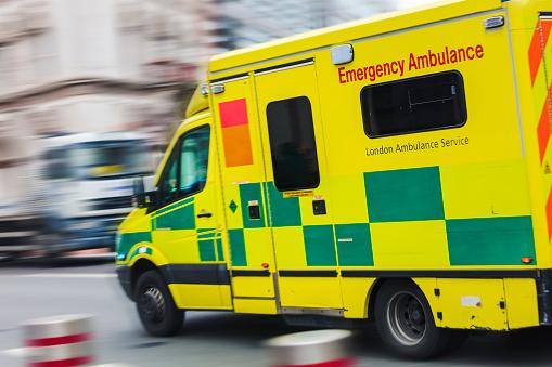 Speeding ambulance 966914028