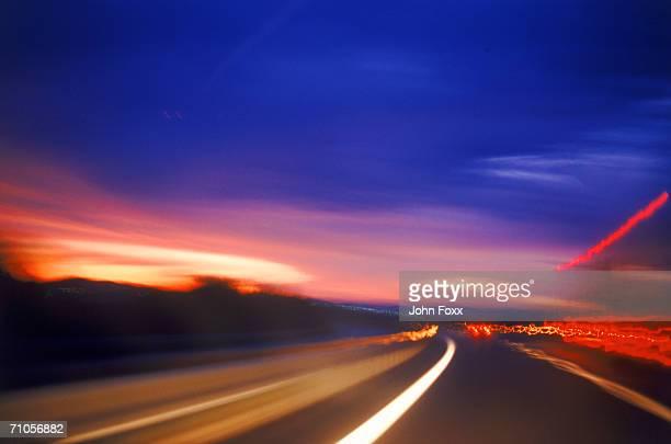 speeding at night