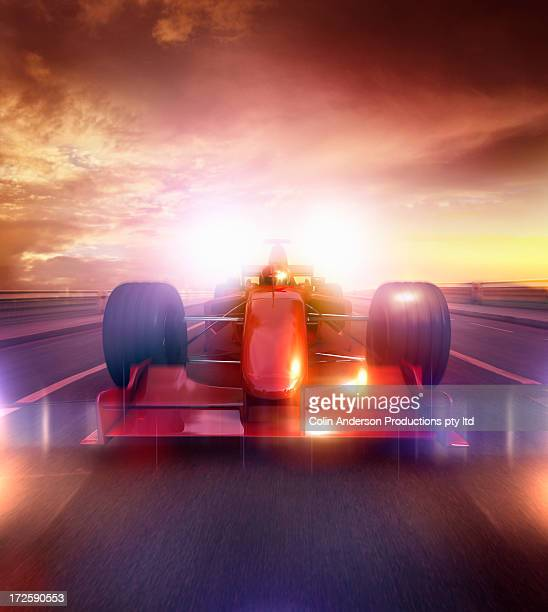 speeding car - test track stock pictures, royalty-free photos & images
