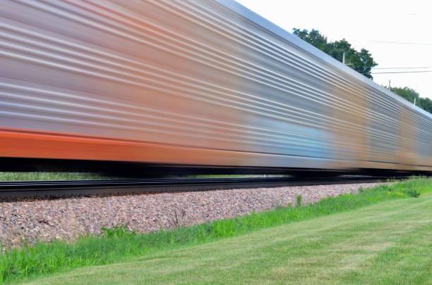 Speeding Freight Train