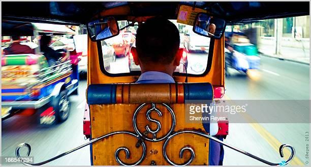 A Speeding Rickshaw