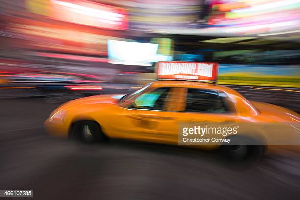 CONTENT] A speeding taxi cab in Times SquareNew Yorkcommutingrush hourmovementpace of lifehecticbusypeoplemanhattanNYCblurtaxicabyellow...