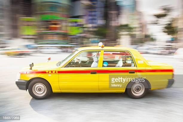 タクシー、東京の街で命令