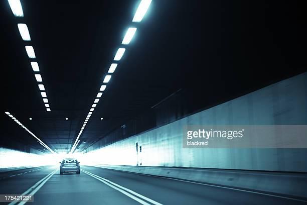 Speeding Through Tunnel