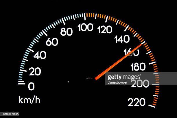 Compteur de vitesse de 160 kmh