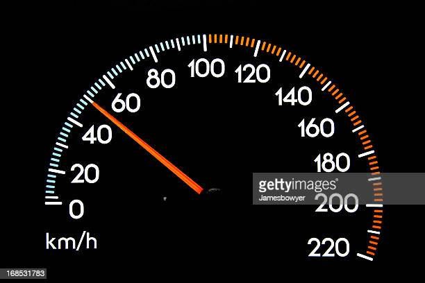 speedometer 50 kmh - number 50 stock photos and pictures