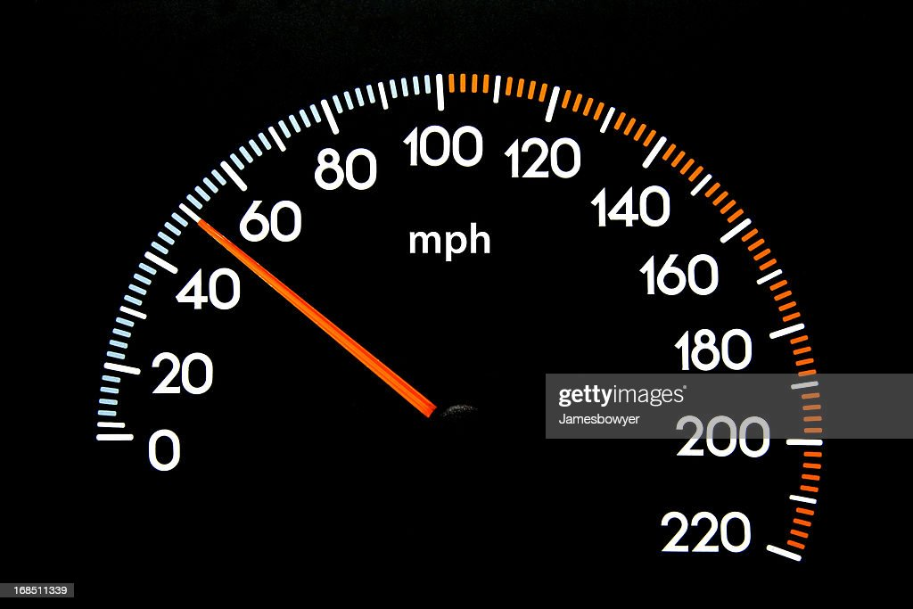 speedometer 50 mph stock photo getty images. Black Bedroom Furniture Sets. Home Design Ideas
