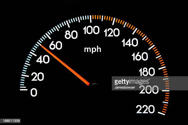Speedometer 50 mph