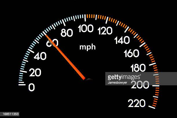 speedometer 60 mph - number 60 stock photos and pictures