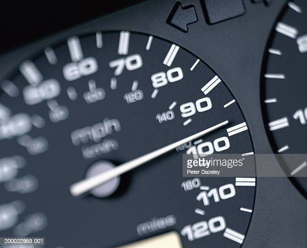 Speedometer, close-up