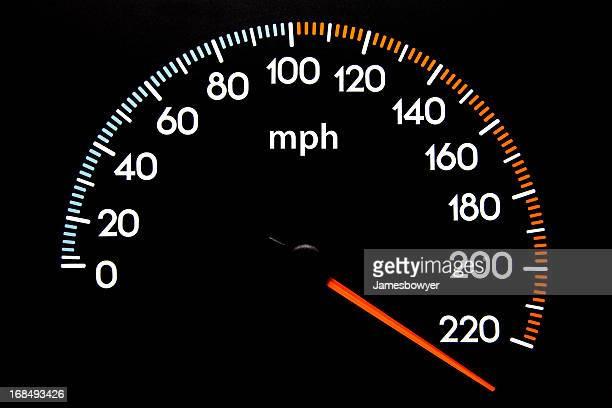 Velocímetro (mph