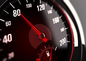 Speedometer, Speed Limit at 80 km per hour