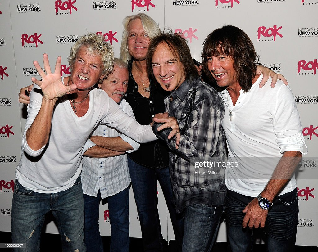 REO Speedwagon Appears At Rok Vegas Nightclub At New York-New York