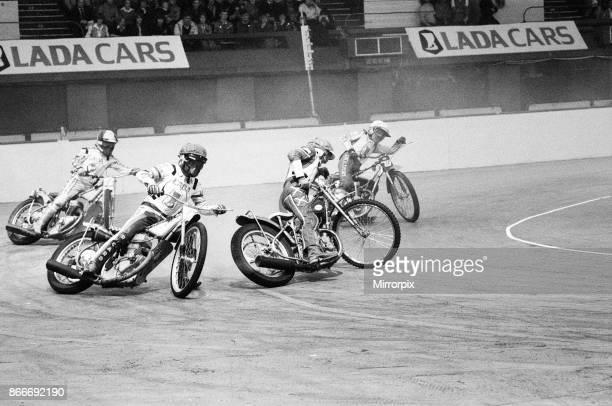Speedway, Lada Indoor International at Wembley Arena, London, Sunday 2nd December 1979.