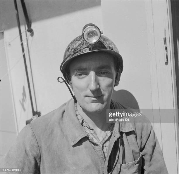 Speleologist Maurice Audetat, Lausanne 1951