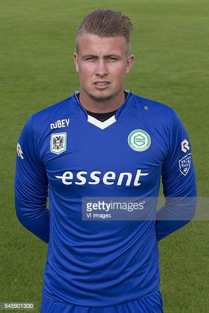Spelersfoto presentatiegids 2016 2017 Sergio Padt during the team presentation of FC Groningen on July 01 2016 at the Euroborg in Groningen The...