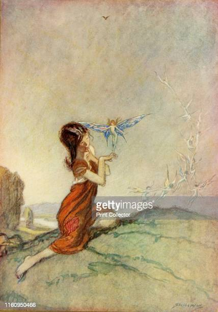 'A Spell for a Fairy' 1914 From Princess Mary's Gift Book a collection of children's stories by the leading authors of the day with illustrations...