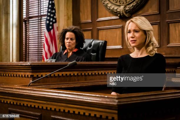 UNIT 'Spellbound' Episode 1819 Pictured Ami Brabson as Judge Karyn Blake Kristen Hager as Abby Dunne