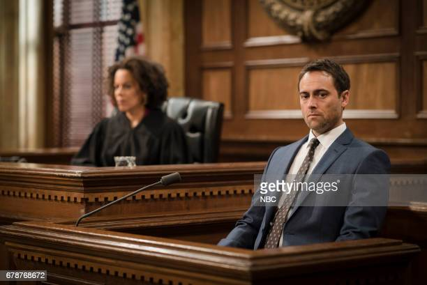 UNIT 'Spellbound' Episode 1819 Pictured Ami Brabson as Judge Karyn Blake Stuart Townsend as Declan Trask