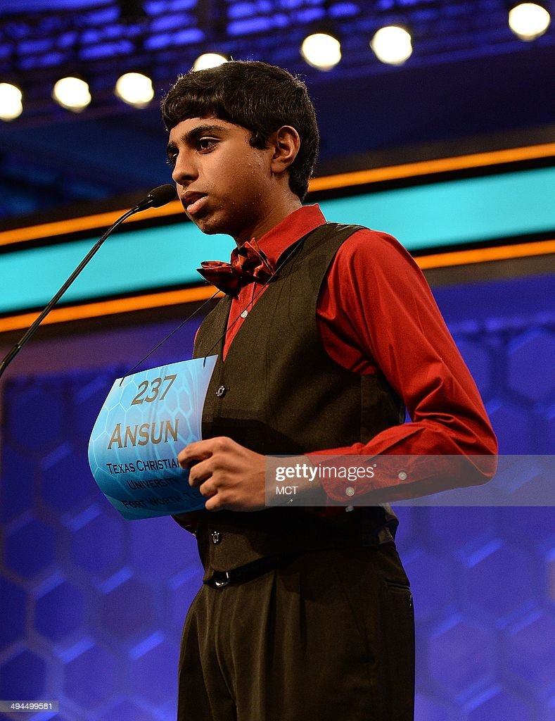2014 National Spelling Bee : News Photo