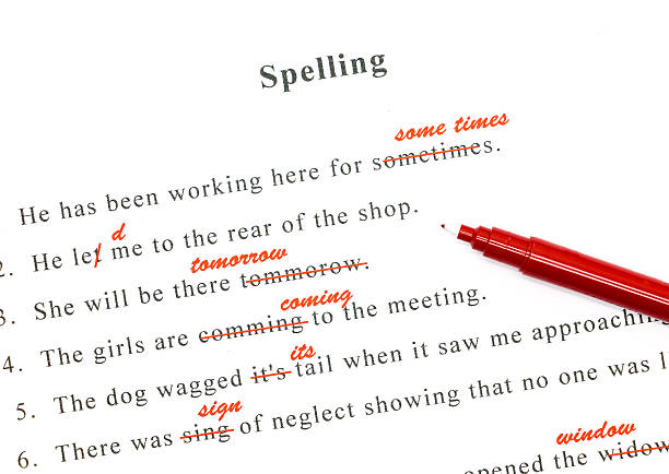 spelling check for essays