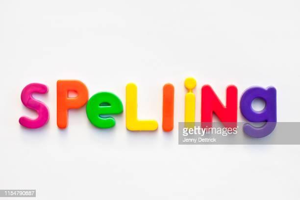 spelling - 綴り ストックフォトと画像