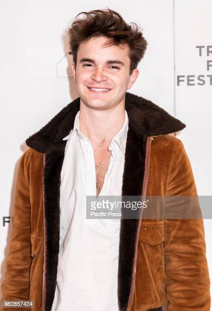 Spencer Bang attends the screening of 'Maine' during the 2018 Tribeca Film Festival at Cinepolis Chelsea Manhattan