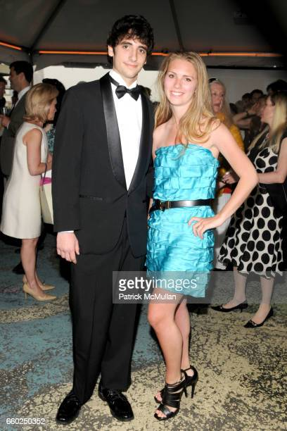 Spencer Biddle Millius and Hadley Nagel attend SOLAR 1's Revelry By The River Honors MATTHEW MODINE KICK KENNEDY HSBC at Stuyvesant Cove on June 2...