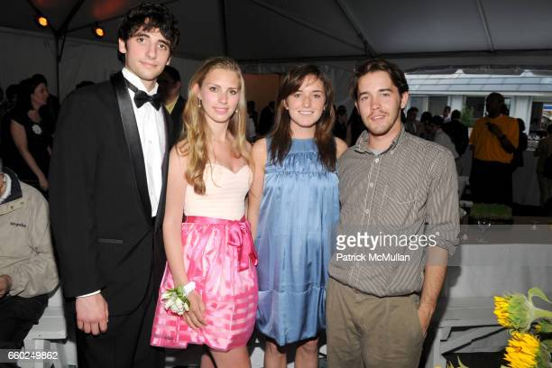 Spencer Biddle Millius Hadley Nagel Kick Kennedy and Tom Reilly attend SOLAR 1's Revelry By The River Honors MATTHEW MODINE KICK KENNEDY HSBC at...